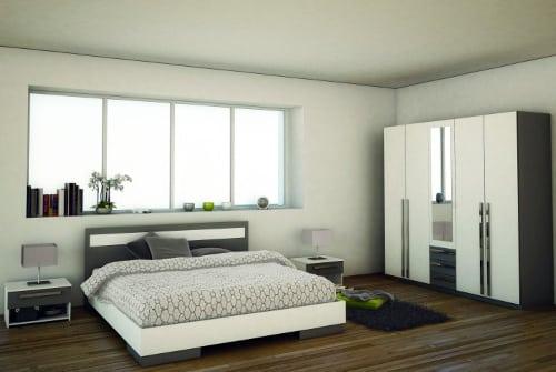 Elegantná spálňa