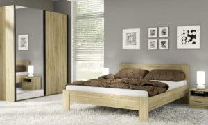 Lacná spálňa