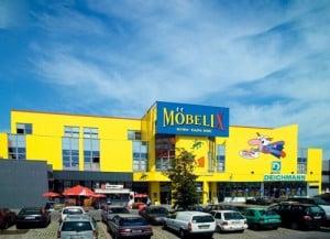 Predajňa nábytku Mobelix