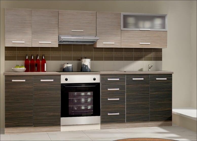 Moderná kuchyňa - tmavá