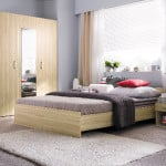 Moderná spálňa - svetlá