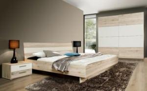Štýlová moderná spálňa