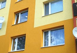 Plastové okná - bytovka