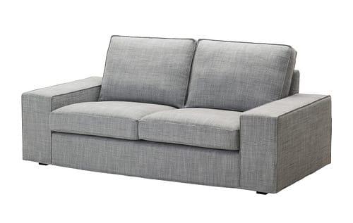 Siva rozkladacia sedacka - IKEA