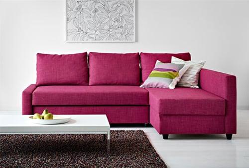Rozkladacia sedacka z IKEA