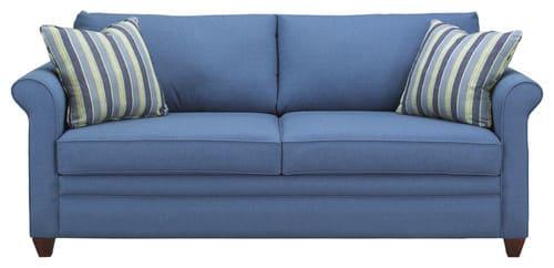 Rozkladacia sedačka - modra