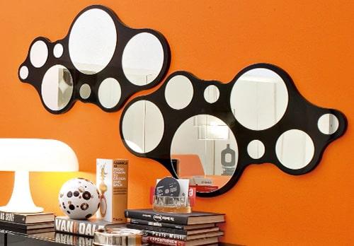 Moderne kruhove zrkadla