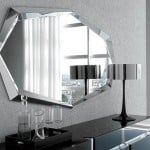 Moderne dizajnove zrkadlo