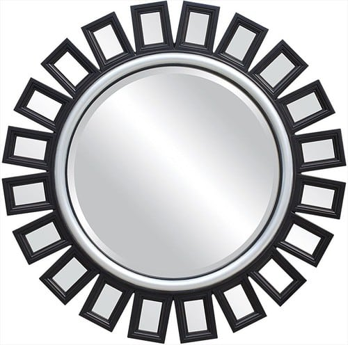 Moderne kruhove zrkadlo
