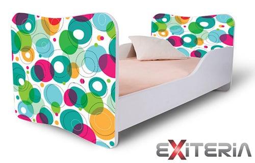 Detská posteľ - farebná