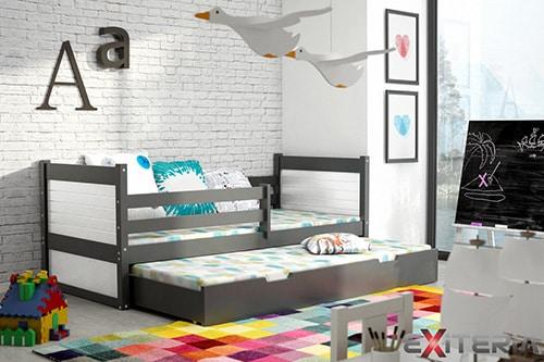 Moderná detská posteľ