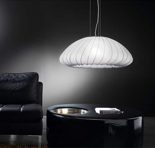 Dizajnový luster do obývačky