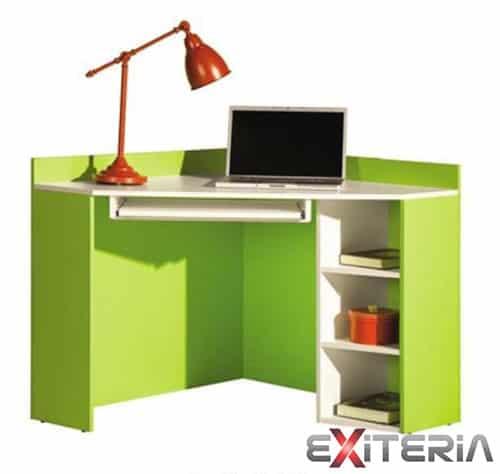Písací stôl - zelený