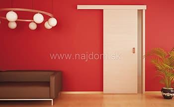Posuvné dvere - jednokrídlové