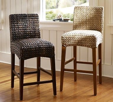 Mahagonové barové stoličky
