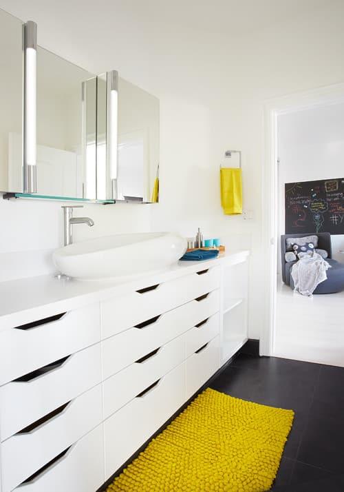 Zásuvková skrinka pod umývadlo