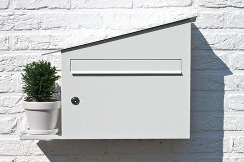 Moderná poštová schránka