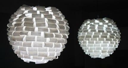 Papierové lampy