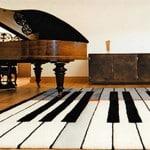Koberec klavír