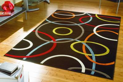 Farebný koberec