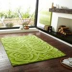 Moderny zeleny koberec