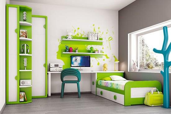 Detská izba s úložným priestorom