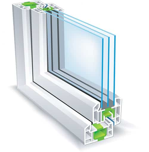 Profil plastového okna