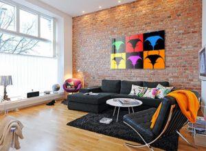 Obraz v obývačke - pop art