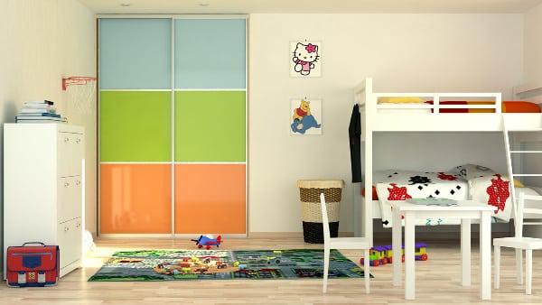 Vstavaná skriňa do detskej izby