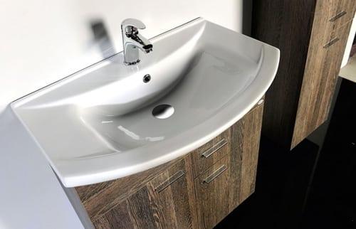 Kúpeľňová skrinka s umývadlom