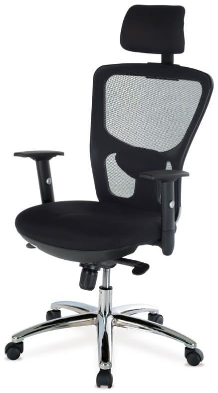Kancelárska stolička s operadlom na hlavu