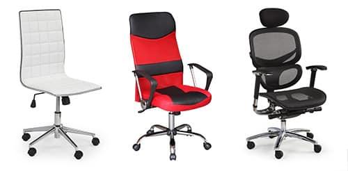 Moderné kancelárske stoličky