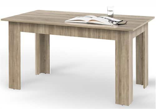 Rozkladací jedálenský stôl - dub