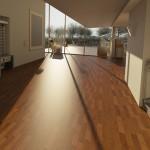 Plávajúca podlaha, pekné koberce a kvalitné plastové okná