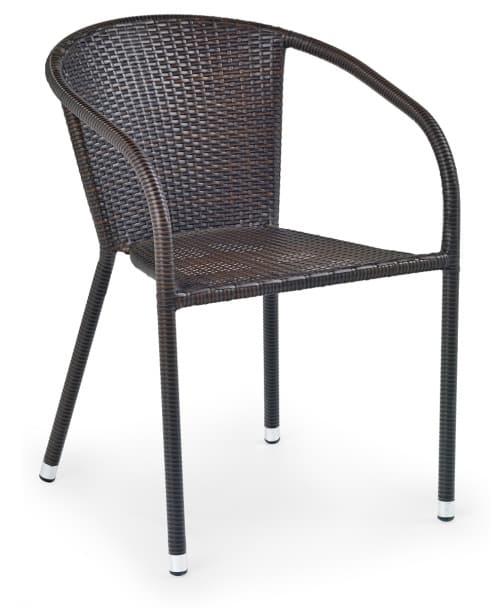 Ratanová záhradná stolička