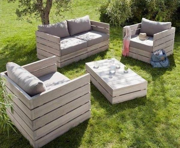 e3bf09c76fa4 Záhradný nábytok z paliet - Moderný nábytok