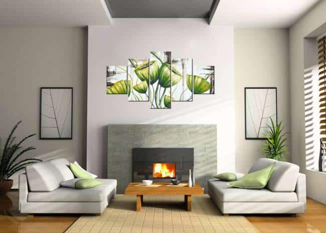 5 dielny obraz do obývačky