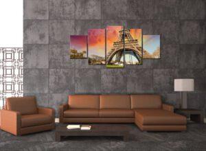 Eiffelova veža - obraz do obývačky