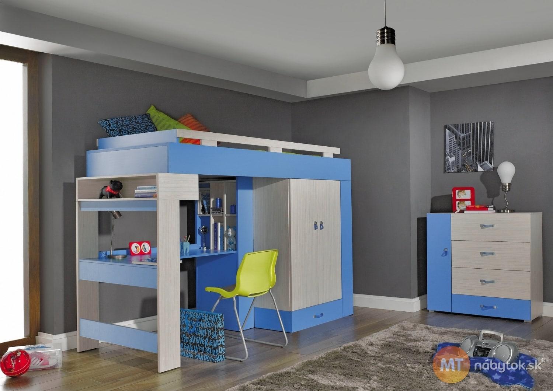 Izba s poschodovou posteľou