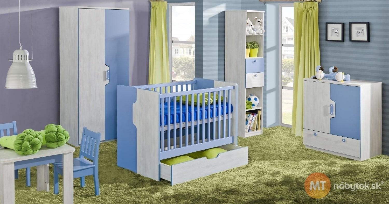 Moderná izba pre bábätko