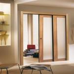 Posuvné dvere do moderného bytu
