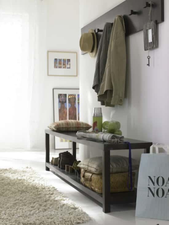 Predsieňový nábytok s lavičkou