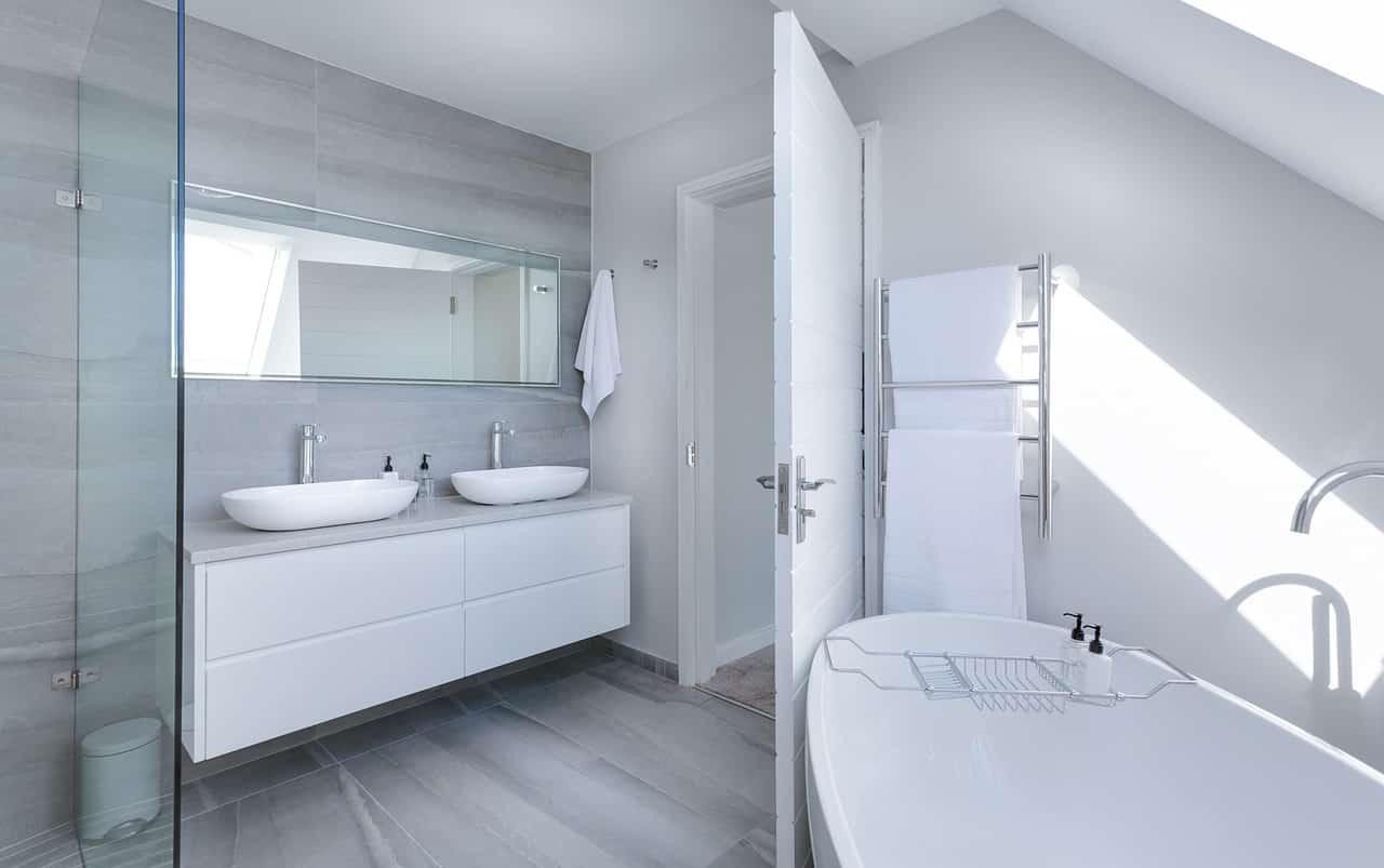 Kúpeľňa v modernom štýle