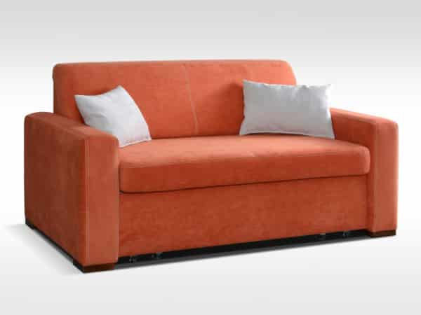 Oranžová sedačka